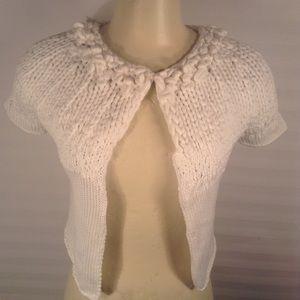 Brunello Cucinelli White Cotton Sweater Size Small
